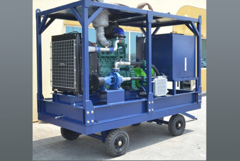 Heat Exchanger Pump Cleaning Unit