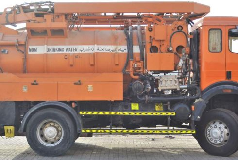 Pump Replacement on Sewage Cleaning Truck