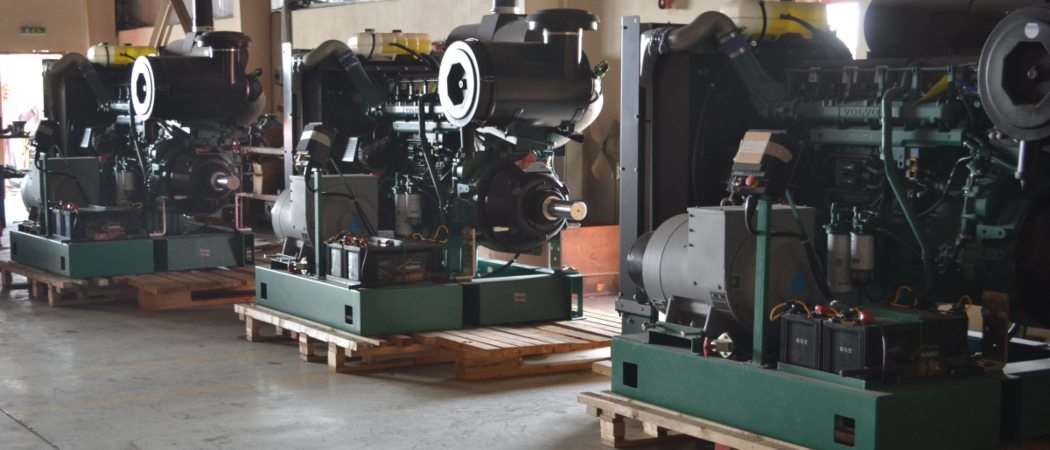 System Integration of Engine with Pump and Alternator
